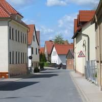 Haussiedlung in der Ortschaft