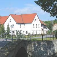 Brücke über die Orla in Kolba