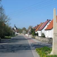 Hauptstraße in Oppurg