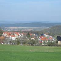 Blick über Wernburg
