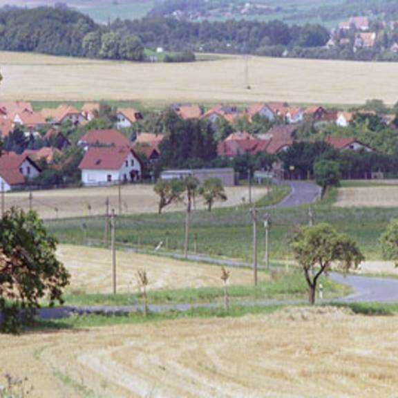 Blick über die Mitgliedsgemeinde Bodelwitz