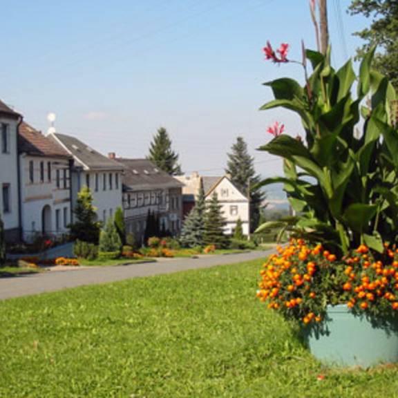 Grünanlagen in der Ortschaft