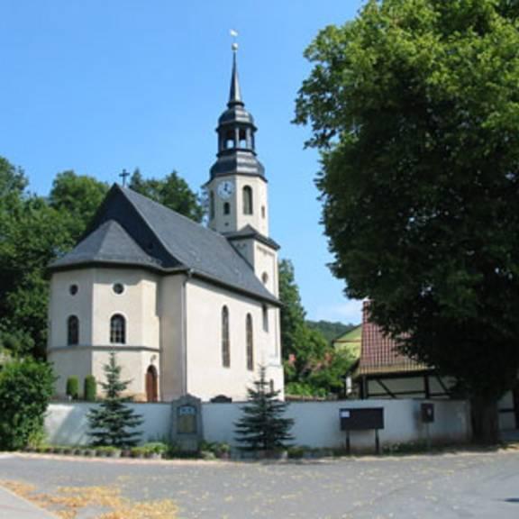 Die Kirche zu Langenorla