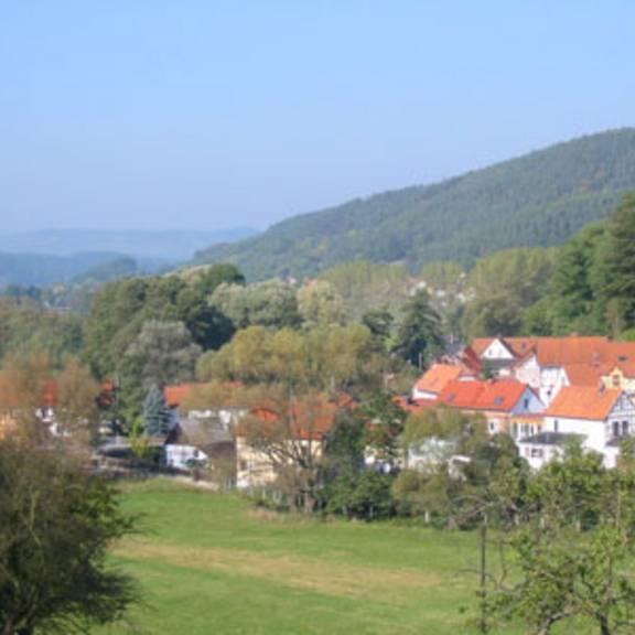 Blick über Langenorla