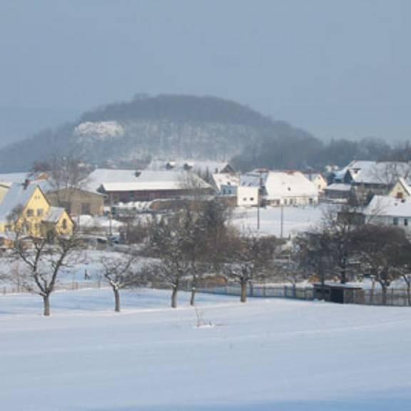 winterliches Wernburg