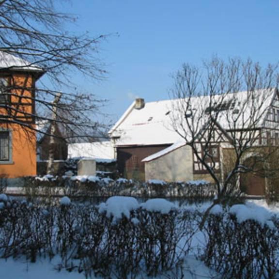 Feldgebiete in Wernburg