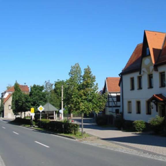 Straßenverbindung ins Zentrum